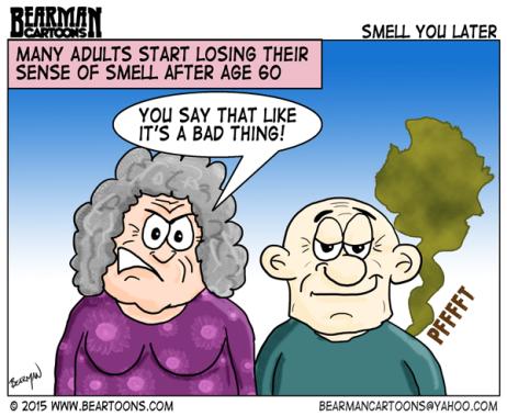 1-23-15-Losing-Sense-of-Smell-Bearman-Cartoons